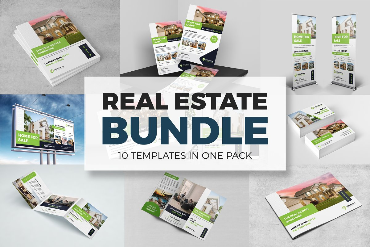 Real Estate Template Bundle