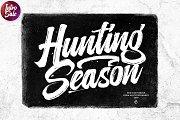 Hunting season (Introsale)