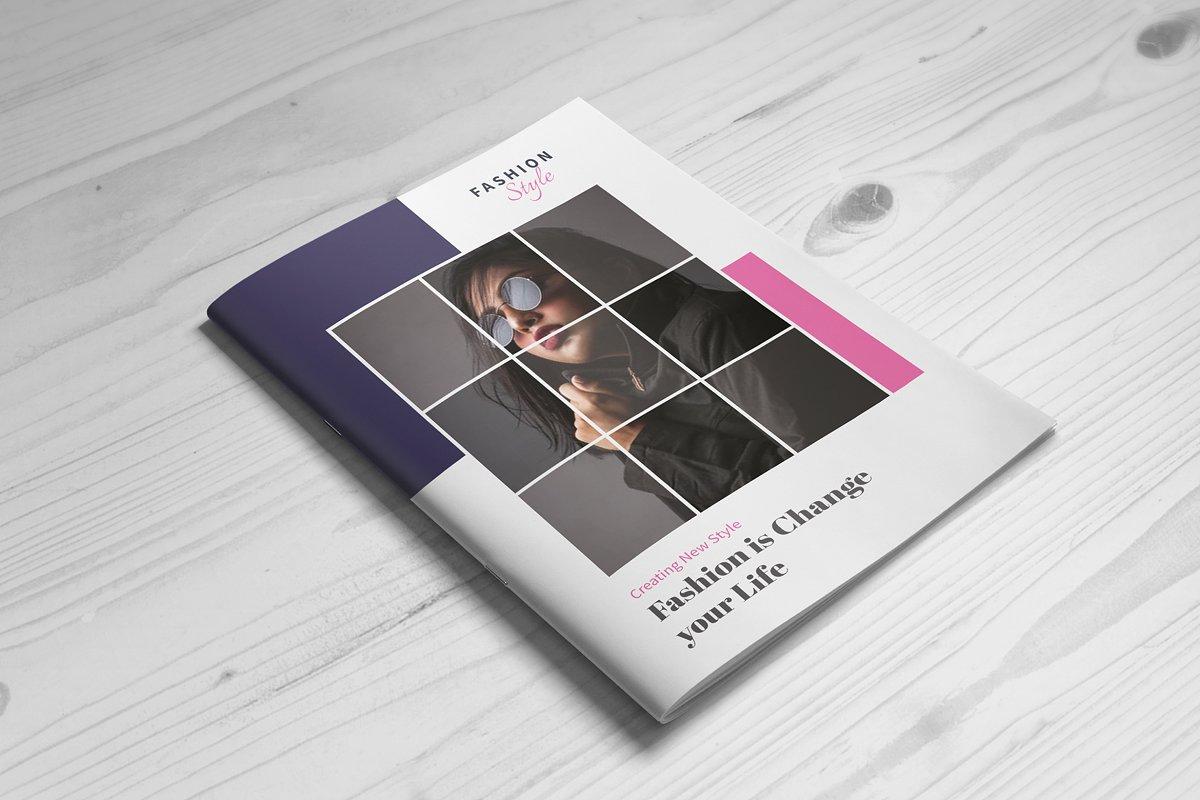 Modern Fashion 16 Page Brochure