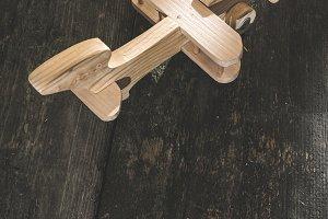 Vintage wooden plane