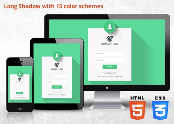 Bootstrap 32 responsive login bootstrap themes creative market pronofoot35fo Choice Image