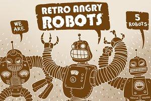 Retro Angry Robots