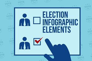 Election Infographic Elements