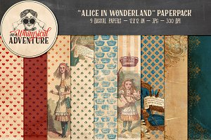 Alice in Wonderland papers