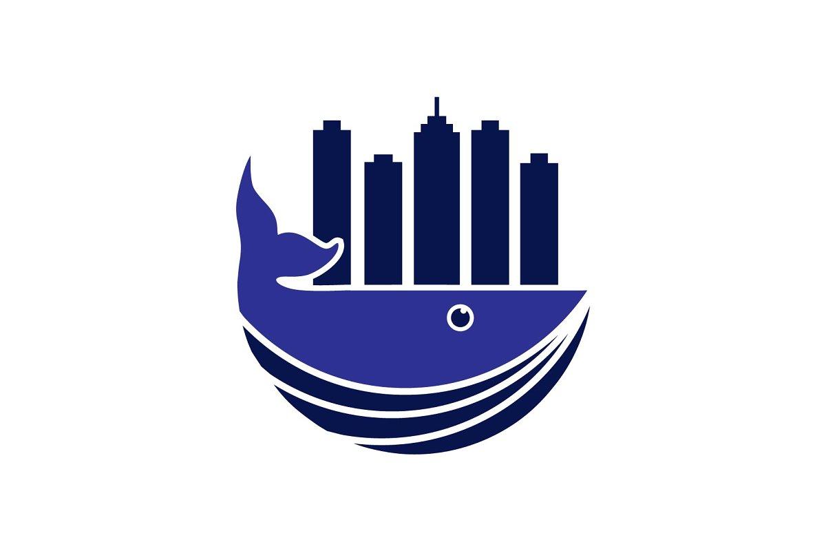 whale town logo