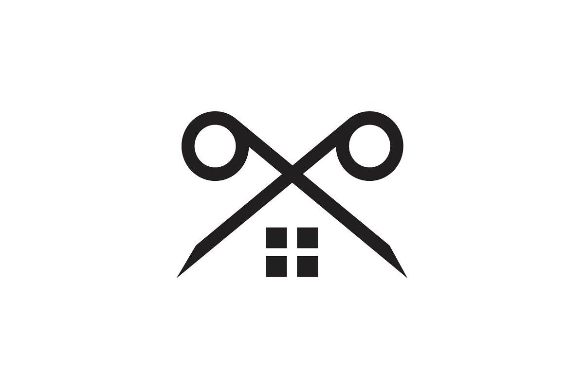 editing house logo