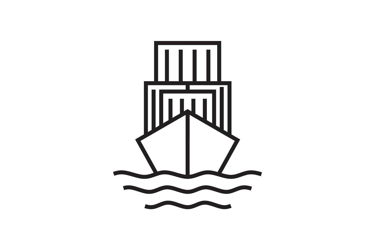 ship cargo logo