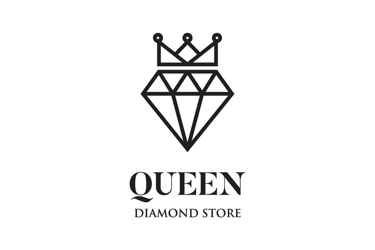 queen diamond logo
