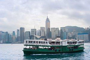 Ferry boat. Hong Kong