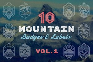 Mountain Badges vol. 1