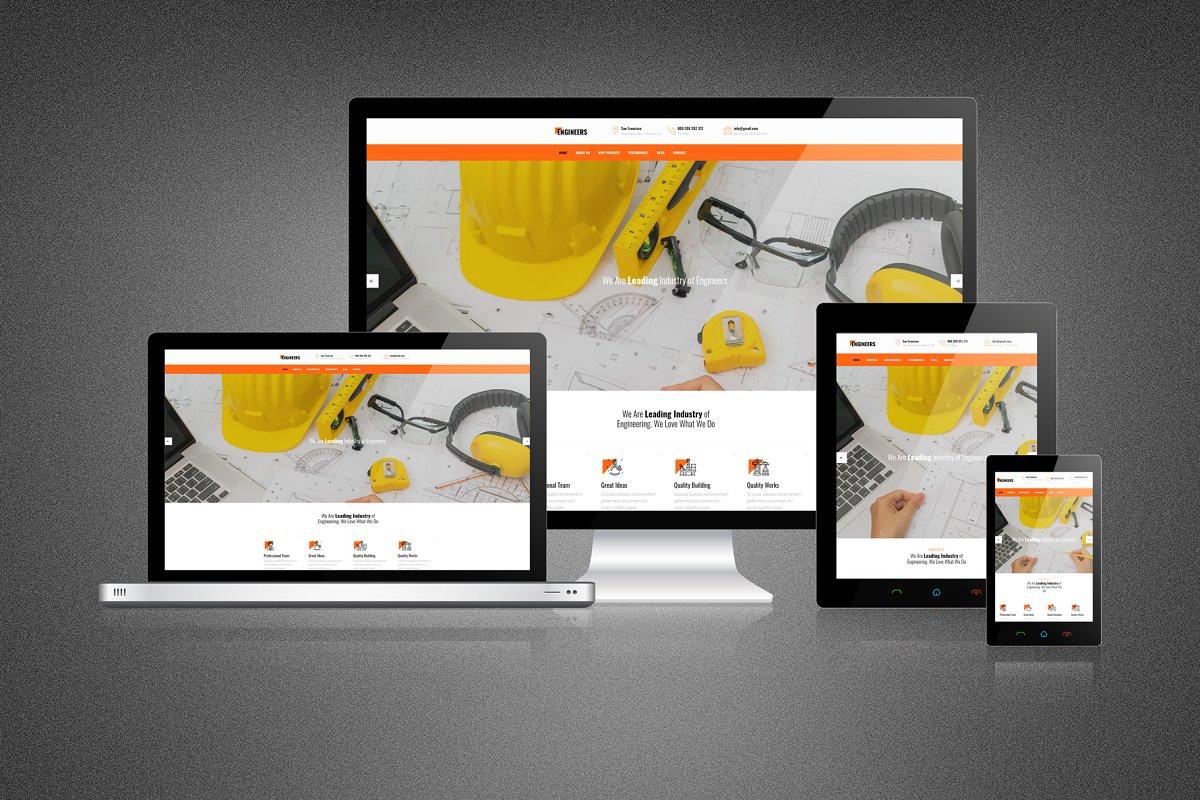 Modern Responsive Website Mockup Creative Mobile Web Mockups