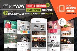 MyWay Multipurpose Wordpress Theme
