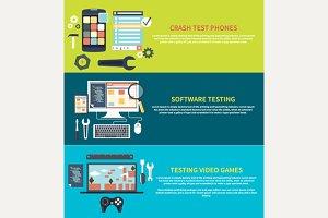 Software, Games, Phones Crash Testin