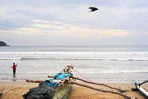 Fishing boy, Sri Lanka