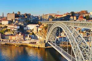 Dom Luis bridge.Porto,Portugal