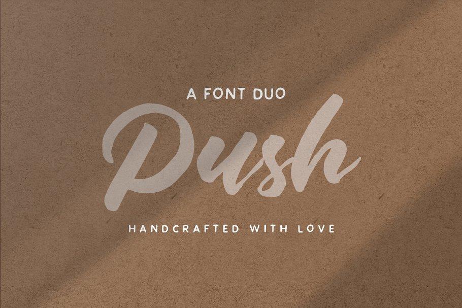Push Font Duo