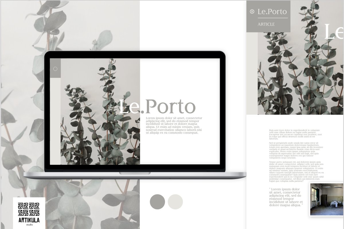 Le.Porto Desktop
