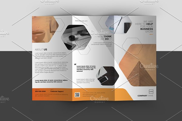 Trifold Corporate Brochure V892