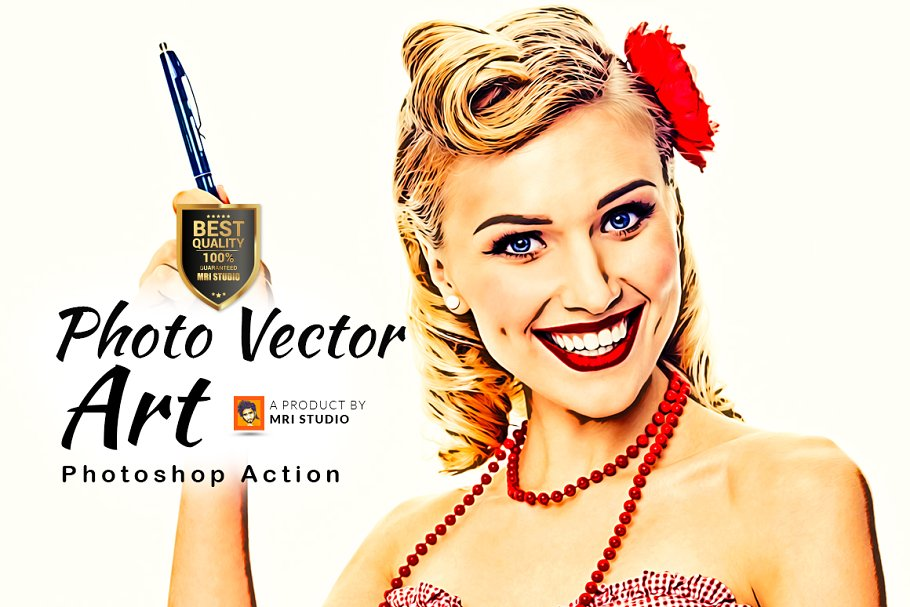 Photo Vector Art Effect