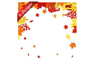 Set of 6 Autumn Frame