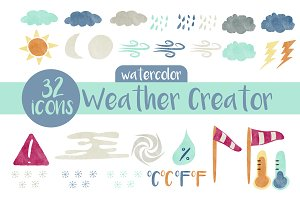 Weather Creator, Watercolor