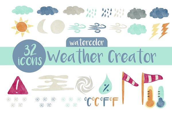 Weather Creator, Watercolor