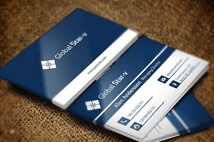 Global Star Vol-08 Business Card