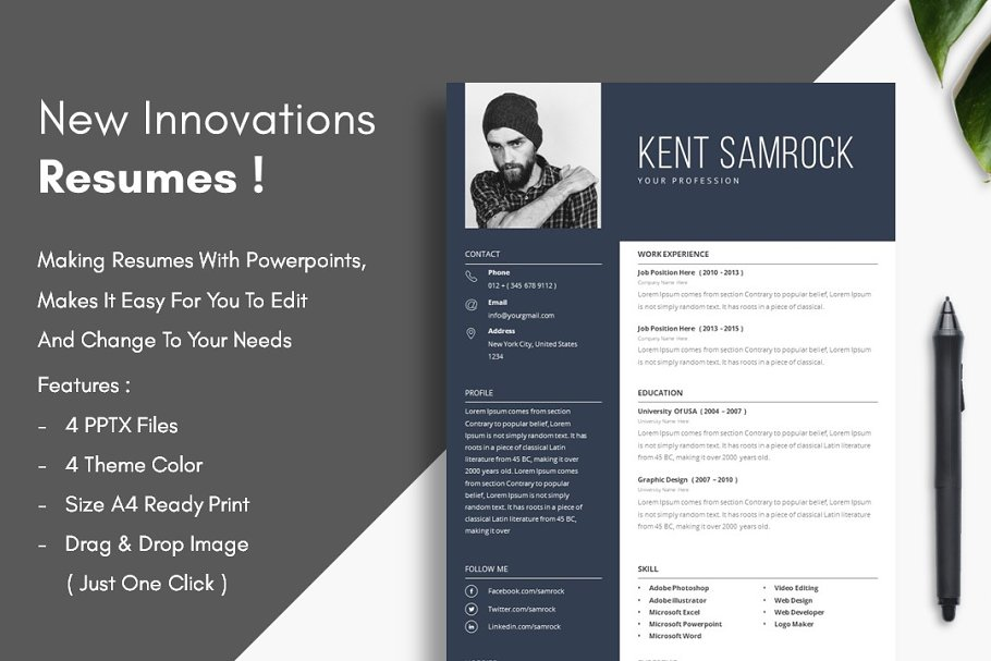 Resume - New Innovations !