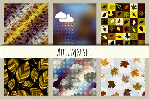 Autumn backgrounds.