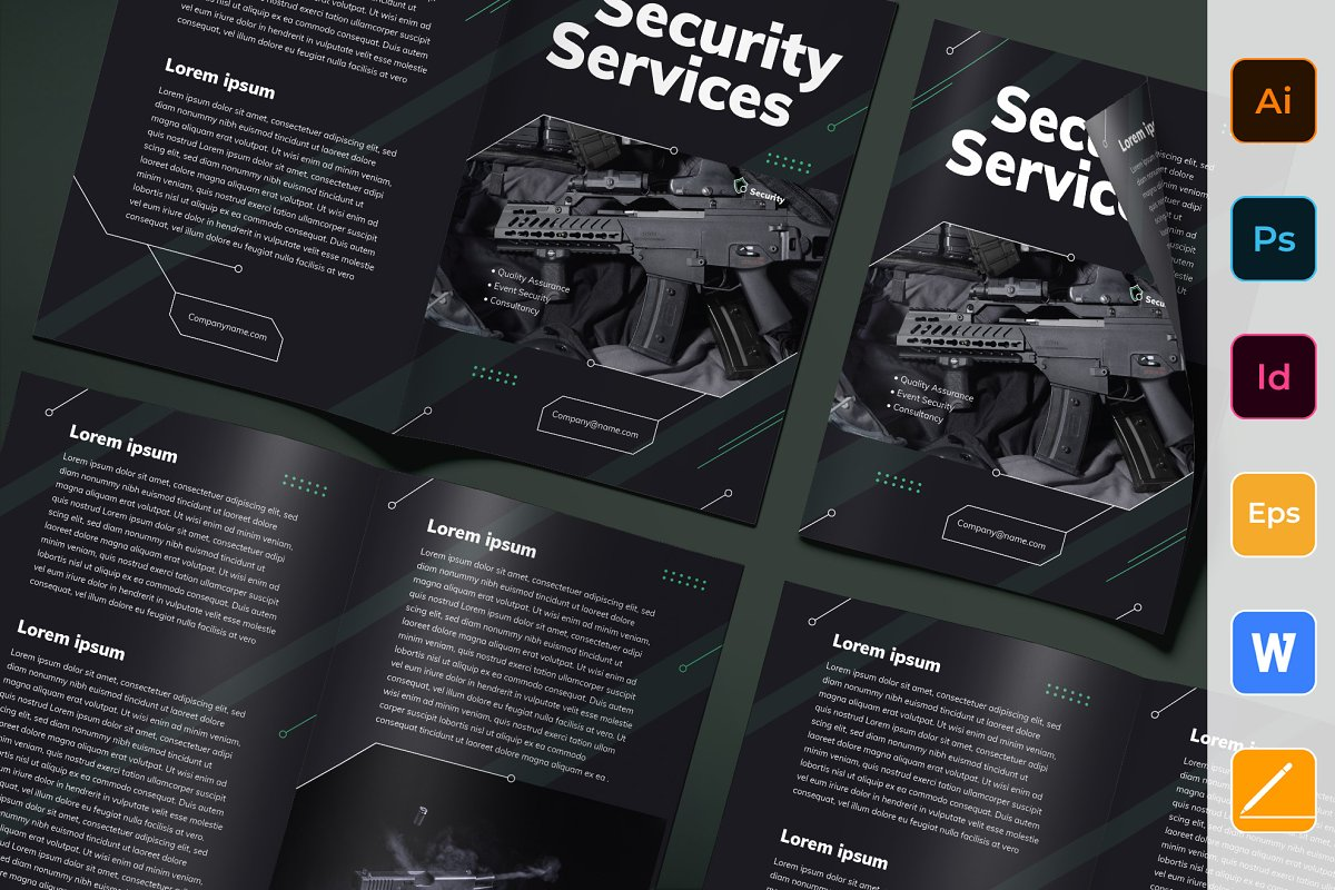 Security Services Brochure Bifold
