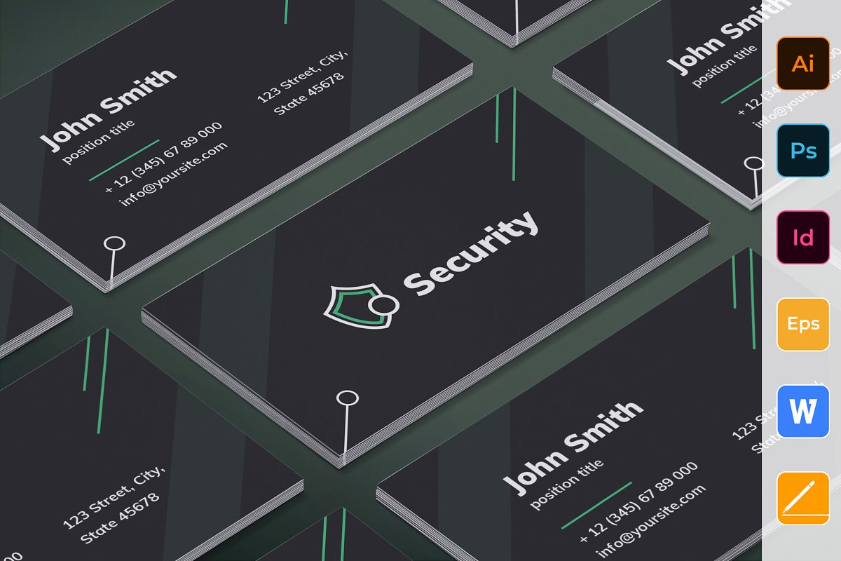 Security Services Business Card
