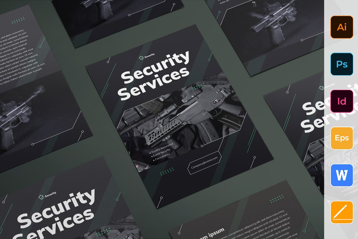 Security Services Flyer