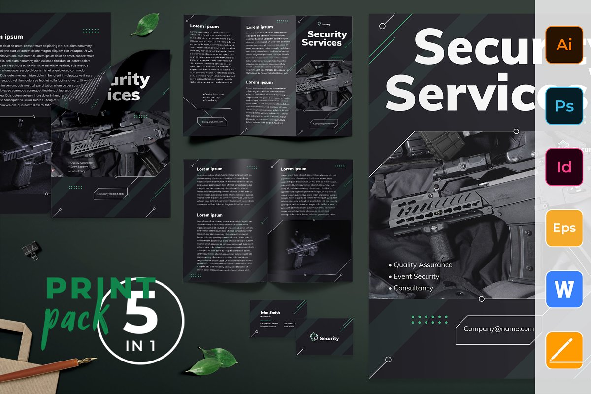 Security Services Print Pack