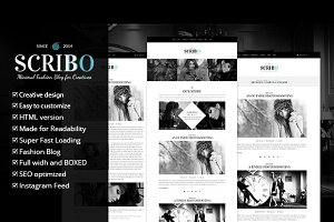 Scribbo Wordpress Blog Theme