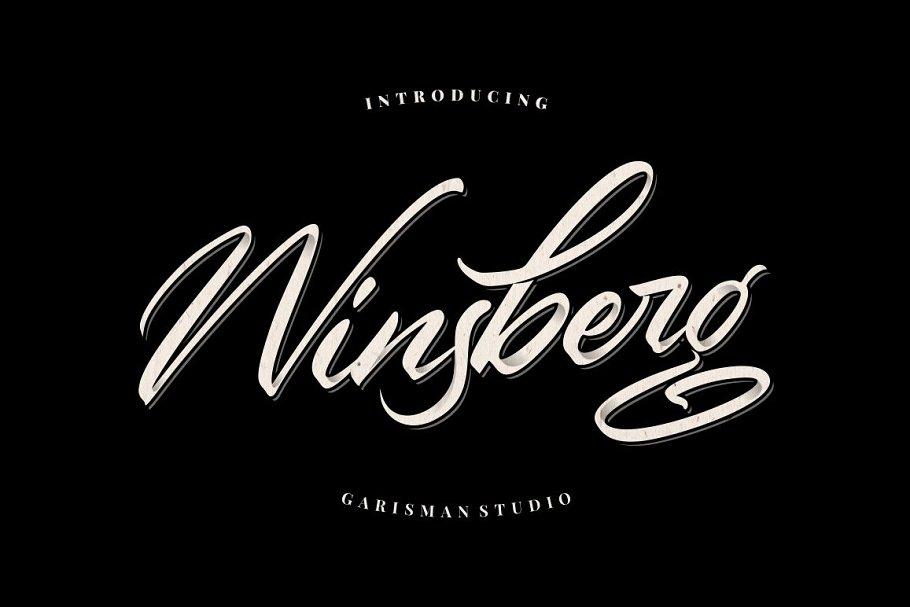 Winsberg - Script Handlettering