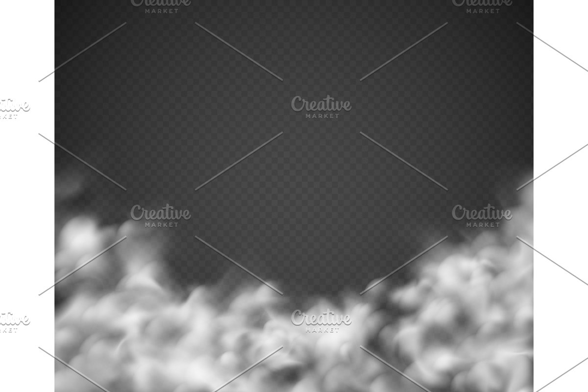 Smoke background. Mist white clouds