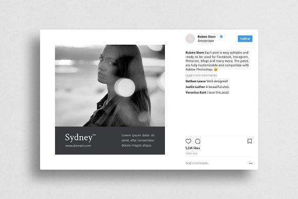 Sydney Social Media Pack