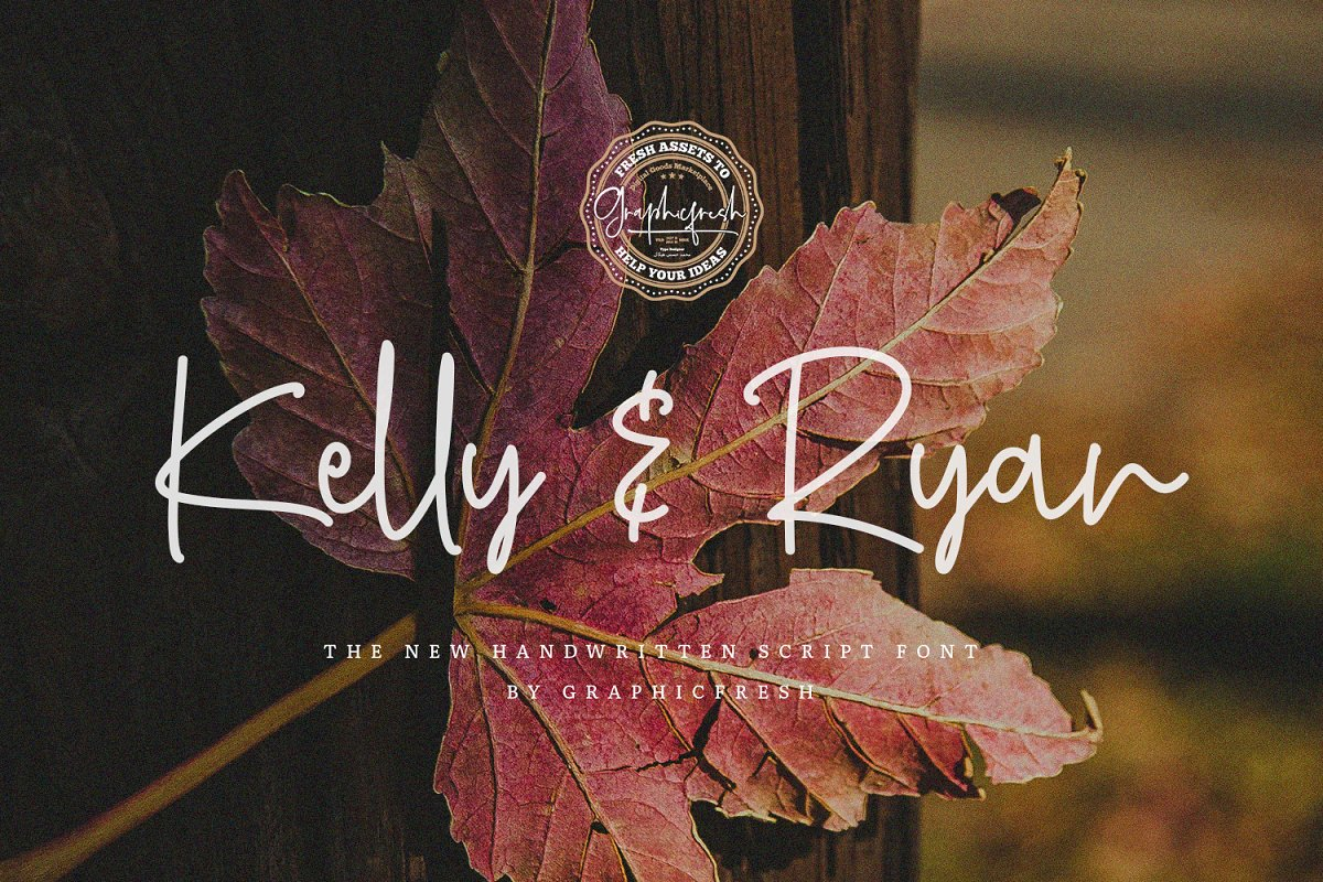 Kelly & Ryan | The Handwritten Font