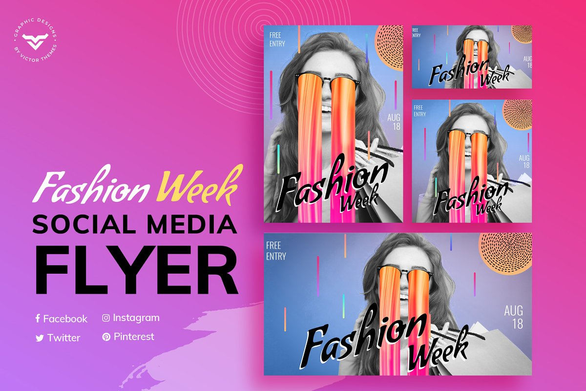 Fashion Social Media Templates