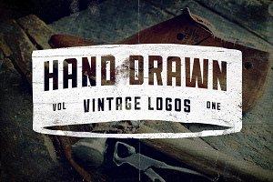 9 Hand Drawn Vintage Logos