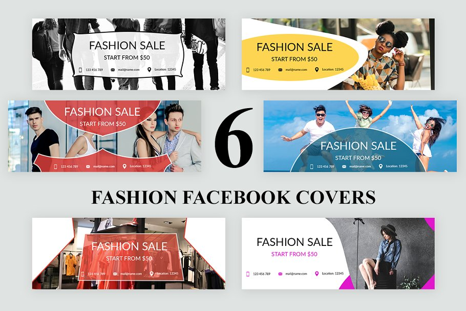 Fashion - Facebook Covers