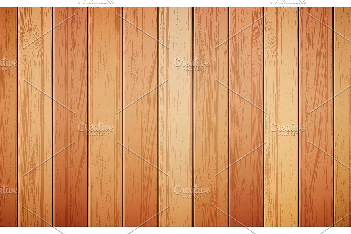 Wood background realistic vector