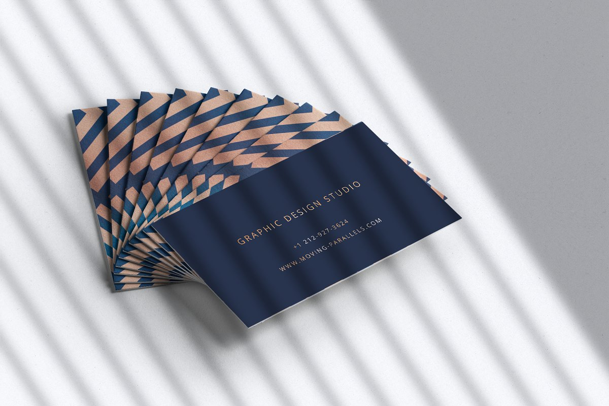 Elegant Gold Business Card 5