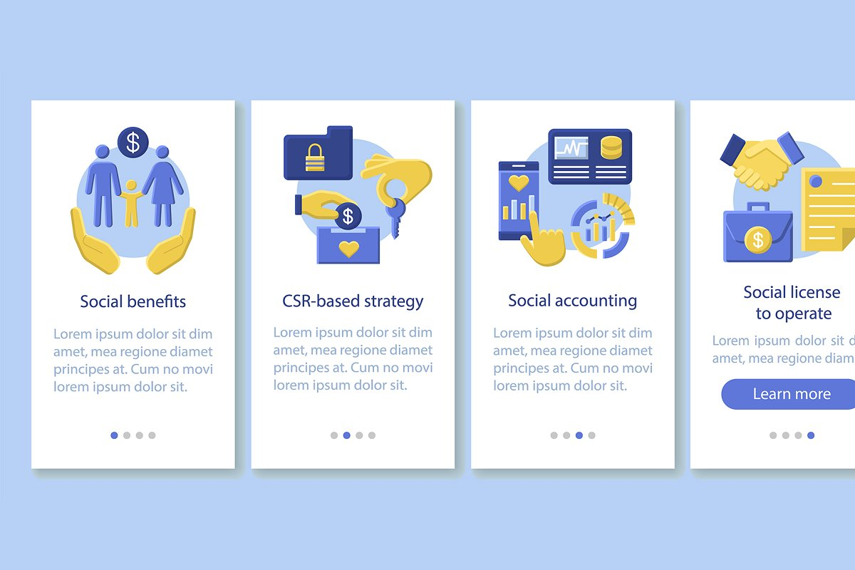 Csr Onboarding Mobile App Pages