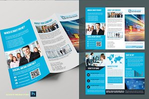 Trifold Business Brochure Vol01