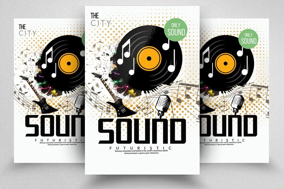 Music Sound Concert Flyer
