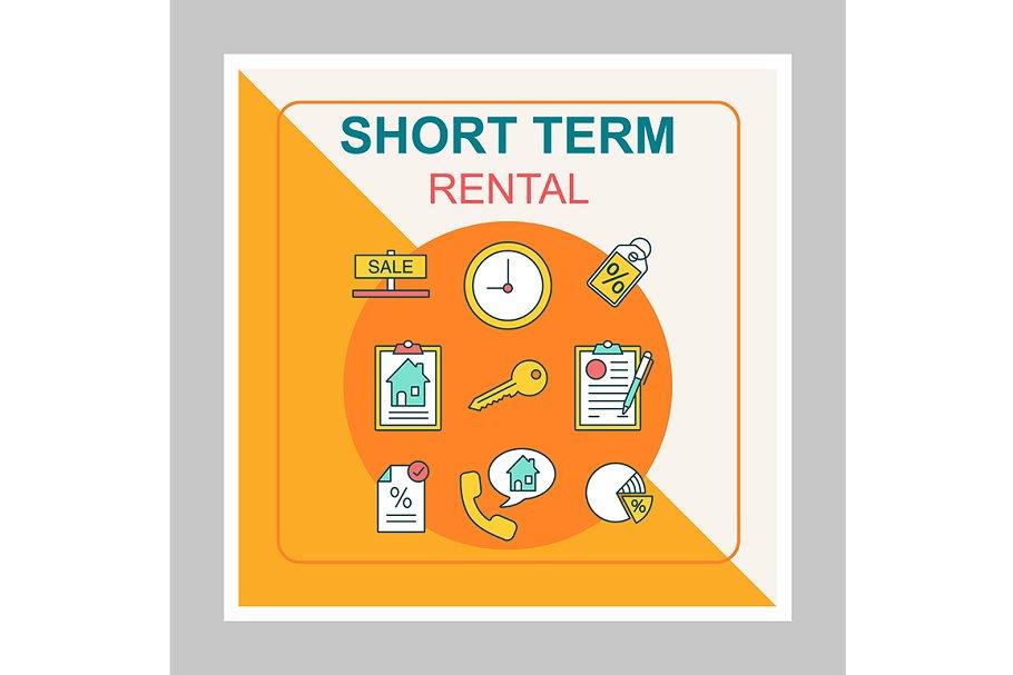 Short term rental social media post