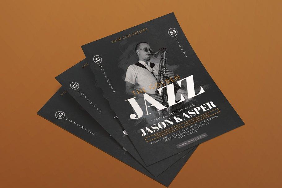 Jazz Music Flyer