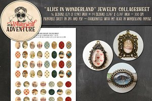Alice In Wonderland Jewelry Circles