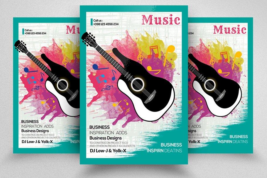 Music Event Fyer / Poster